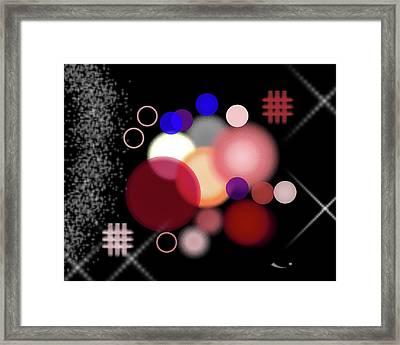 Art_0002 Framed Print