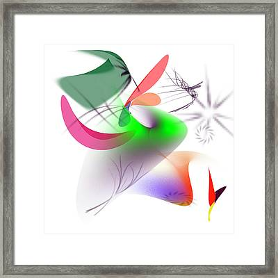 Art_0004 Framed Print