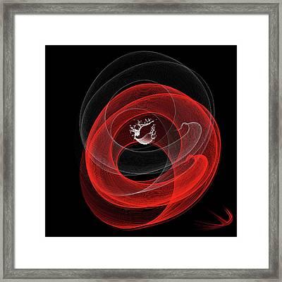Art_0005 Framed Print