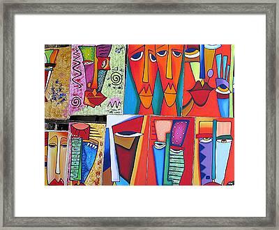 Arte De Cuba Framed Print