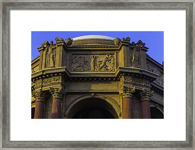 Artful Palace Of Fine Arts Framed Print by Garry Gay
