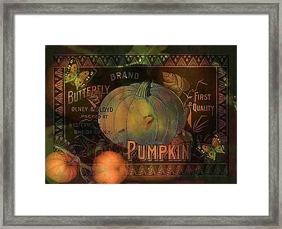Artful Pumpkins Framed Print by Sarah Vernon