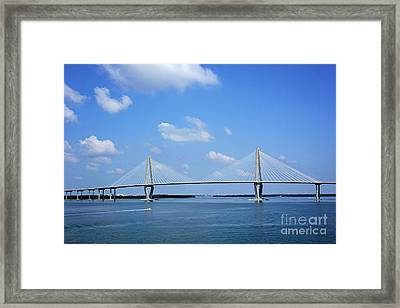 Arthur Ravenel Jr. Bridge - Charleston Framed Print