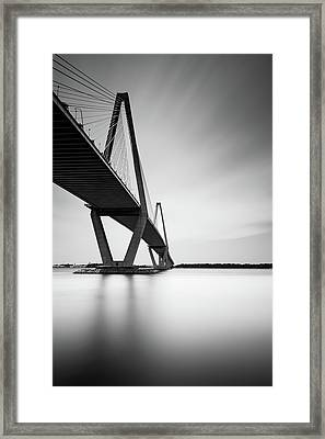 Arthur Ravenel Jr Bridge IIi Framed Print by Ivo Kerssemakers