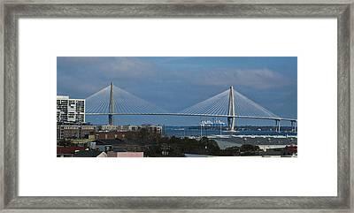 Arthur Ravenel Jr. Bridge Framed Print by Bill Barber