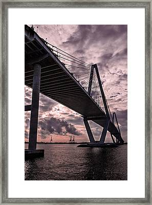 Arthur Ravenel Jr. Bridge Framed Print by Drew Castelhano