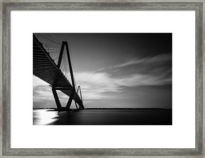 Arthur Ravenel Jr Bridge I Framed Print