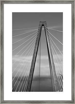 Arthur Ravenel Jr Bridge II Framed Print