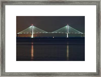 Arthur Ravenel Jr. Bridge II Framed Print by Dustin K Ryan