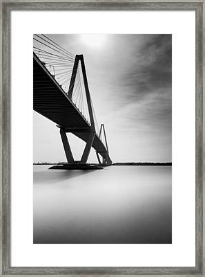 Arthur Ravenel Jr Bridge II Framed Print