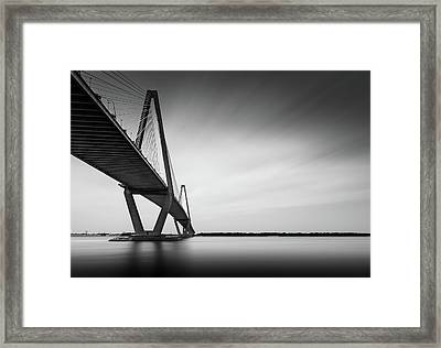 Arthur Ravenel Jr Bridge Iv Framed Print by Ivo Kerssemakers