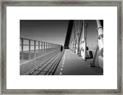 Arthur Ravenel Jr Bridge Runner Framed Print