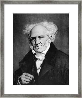 Arthur Schopenhauer Framed Print by Granger