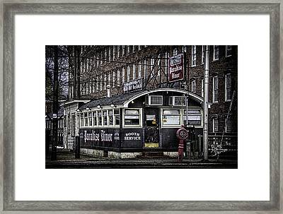 Framed Print featuring the photograph Arthur's Paradise Diner by Betty Denise