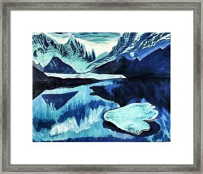Artic Blue  Framed Print