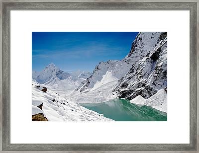 Artic Landscape Framed Print by Britten Adams