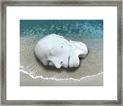 Framed Print featuring the photograph Artifact by Tom Romeo