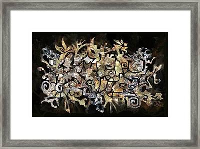 Artifacts Framed Print