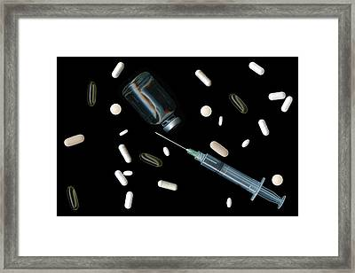 Artificial Life Framed Print