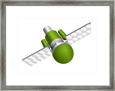 Artificial Satellite Framed Print