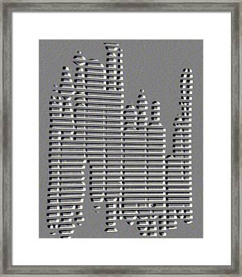 Artist Arsenal Framed Print by Tammera Malicki-Wong