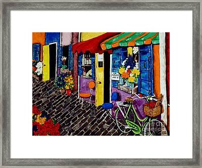 Artist Avenue Framed Print by Jackie Carpenter