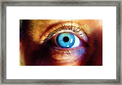 Artist Eye View Framed Print