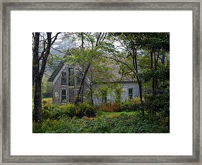 Artist Hideout Framed Print by Glenn Gordon