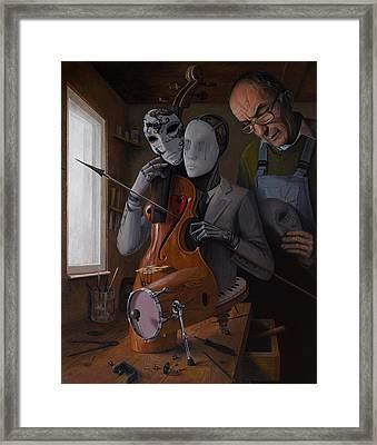 Artist In Love Iv Framed Print
