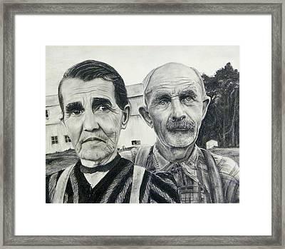 Artistic Deferance Framed Print by Richard Barone