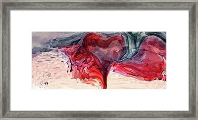 Artistic Heart Framed Print