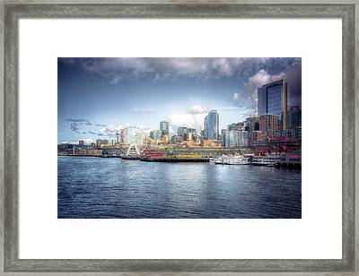 Artistic In Seattle Framed Print by Spencer McDonald