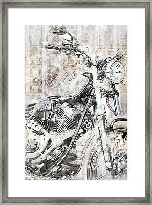 Artistic Ride Framed Print