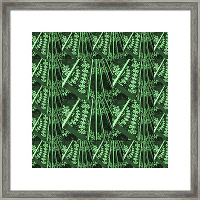 Artistic Sparkle Floral Green Graphic Art Very Elegant One Of A Kind Work That Will Show Great On An Framed Print