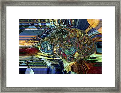 Artist's Brain Framed Print
