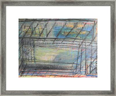 Artists' Cemetery Framed Print