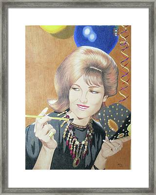 Artist's Mother Framed Print by Marianna Hoefle