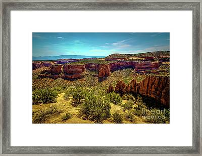 Artists Point Framed Print by Jon Burch Photography