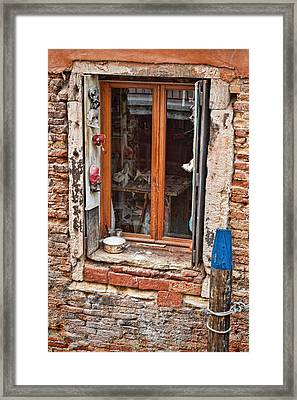 Framed Print featuring the photograph Artist's Studio by Kim Wilson