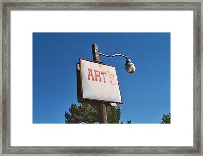 Arts Framed Print by Roman Lezo