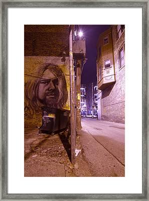 Artsy Alley Framed Print