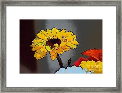 Artsy Sunshine Framed Print