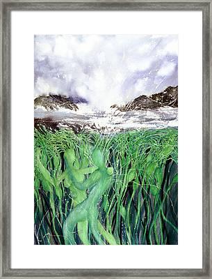 Arturo And Katarina Framed Print