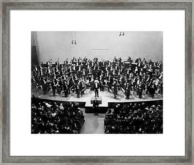 Arturo Toscanini 1867-1957 Receives Framed Print by Everett