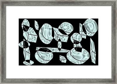 Artwork 101 Framed Print by Evelyn Patrick