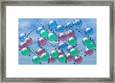 Artwork 107 Framed Print by Evelyn Patrick