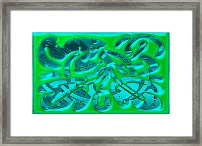Artwork 113 Framed Print by Evelyn Patrick