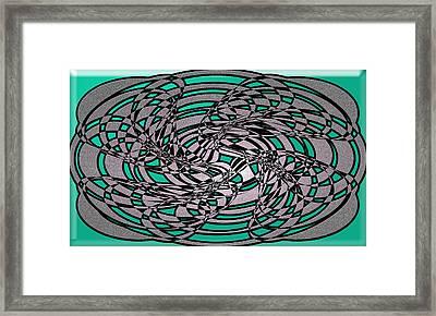 Artwork 116 Framed Print by Evelyn Patrick