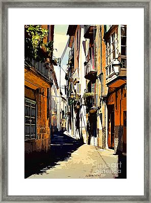 Artwork Palma De Mallorca Spain Framed Print