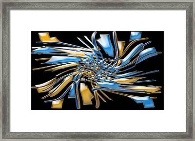 Artwork112 Framed Print by Evelyn Patrick